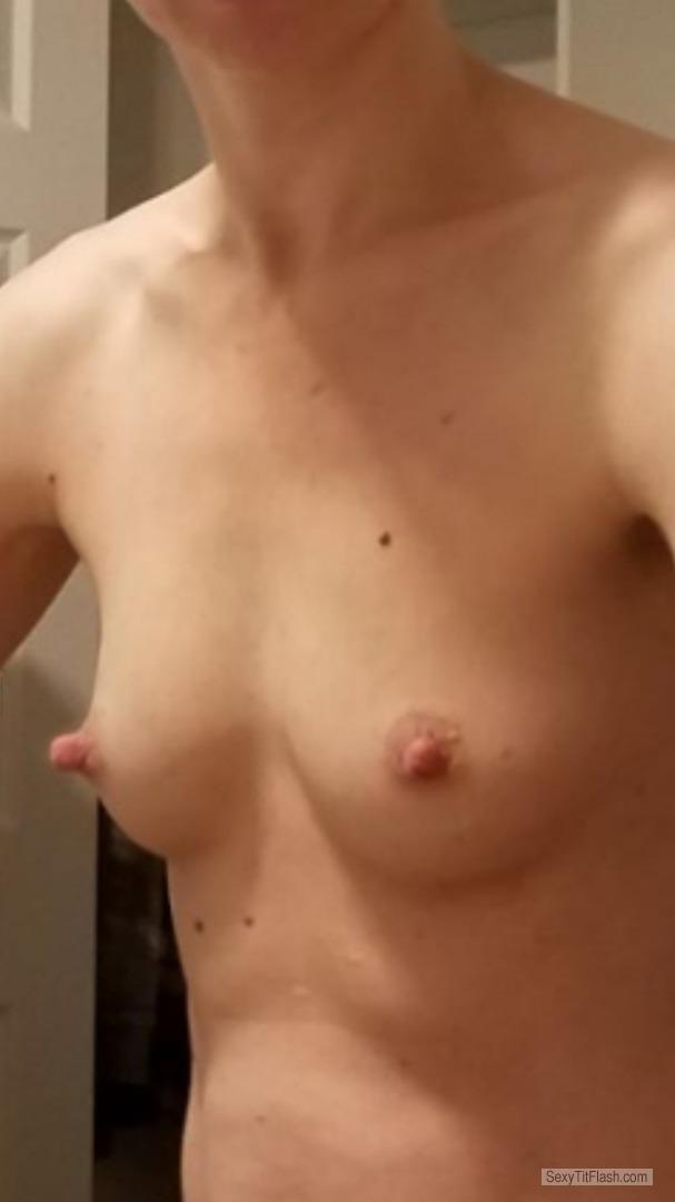Tit Flash: My Small Tits - Amber Embery from United Kingdom